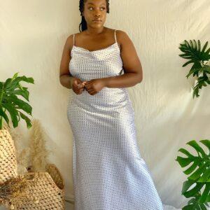 ANENI Maxi Slip Dress